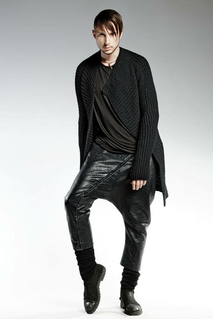 mode pour homme Pendari esprit cosmopolite pantalon trouser