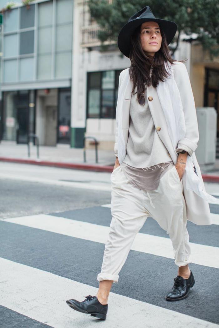 1001 Id Es Pour Une Tenue Avec Pantalon Blanc Fantastique