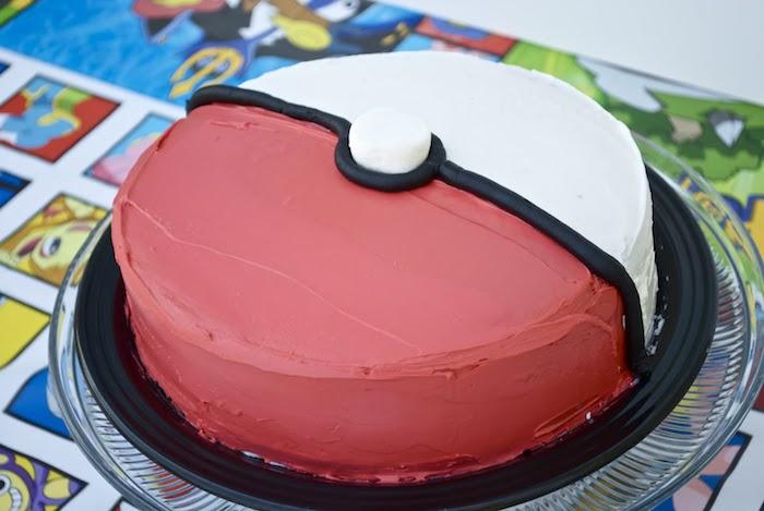 recette de gateau, surprise pokémon, gâteau d anniversaire, recette facile, guimauve, pâte d'amande colorée