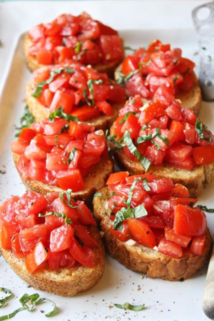 comment préparer la tartine italienne parfaite au goût classique ensoleillé