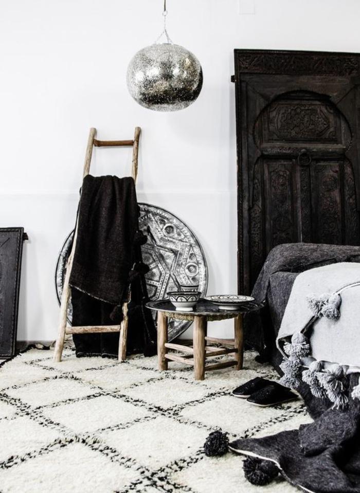 une chambre à coucher d'inspiration marocaine, comment créer une ambiance ethnique chic