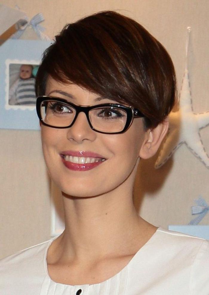 1001 id es pour coiffure femme les coupes pour vous for Coupe cheveux court femme avec lunette