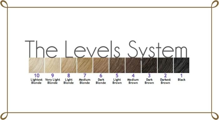 quelle couleur de cheveux choisir, niveaux de couleurs pour cheveux, palette de couleurs, changer de couleur de cheveux