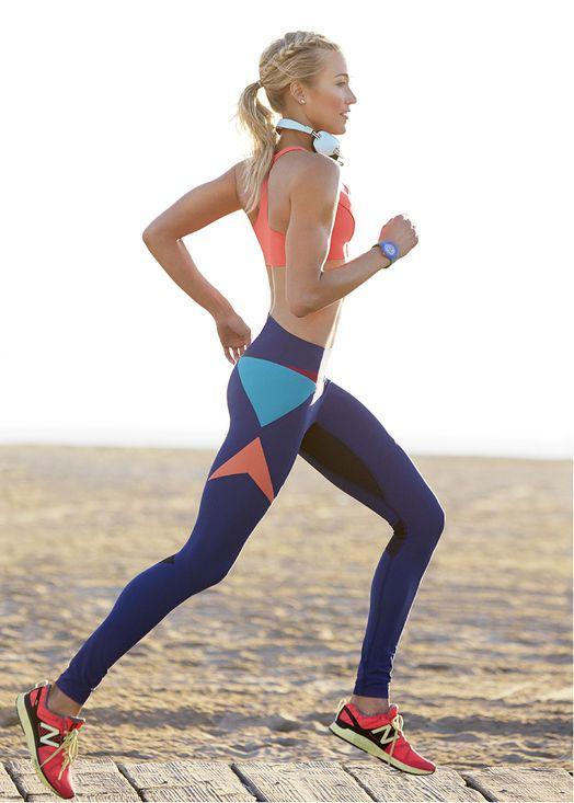 combattre la fatigue courir jogging running pour etre en bonne forme sport au bord de la mer