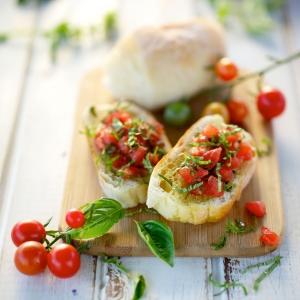50 variétés de la recette de bruschetta italienne classique