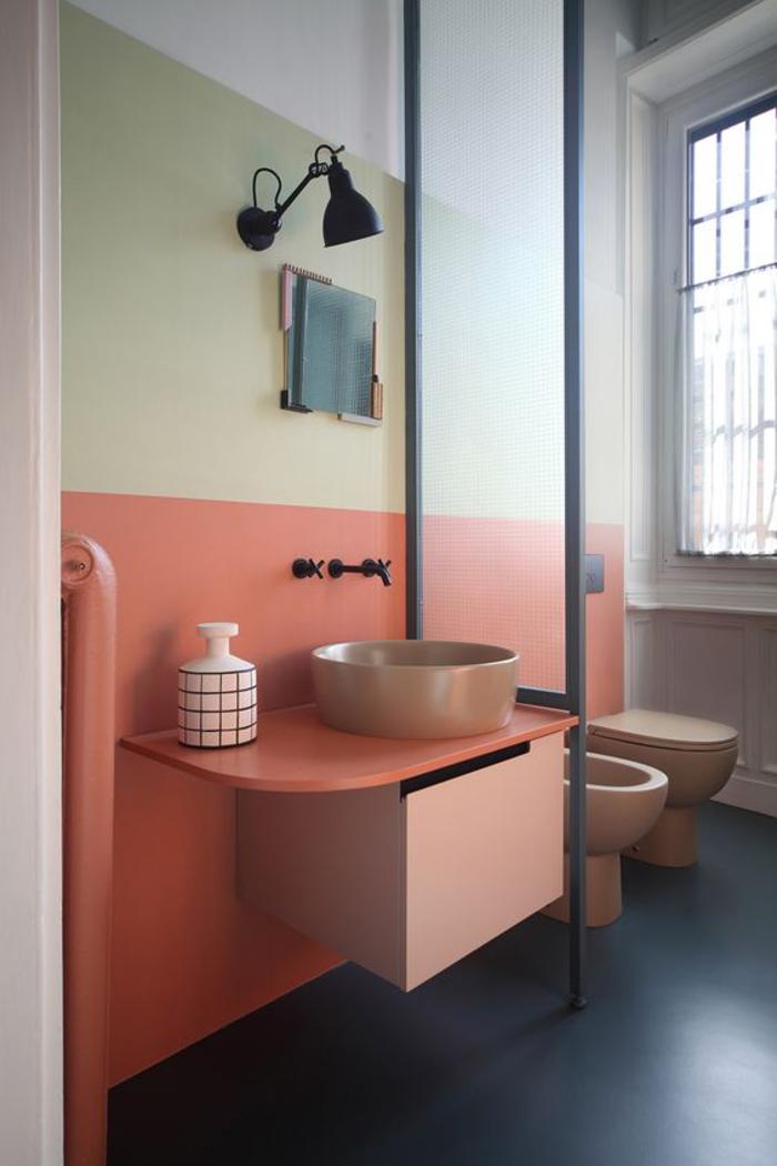 1001 id es pour d corer avec la couleur terre de sienne - Salle de bain idee couleur ...