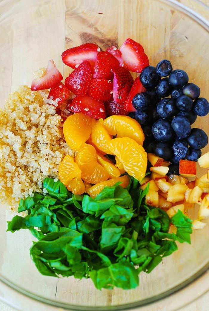 comment vaincre la fatigue salades et desserts de fruits manger léger