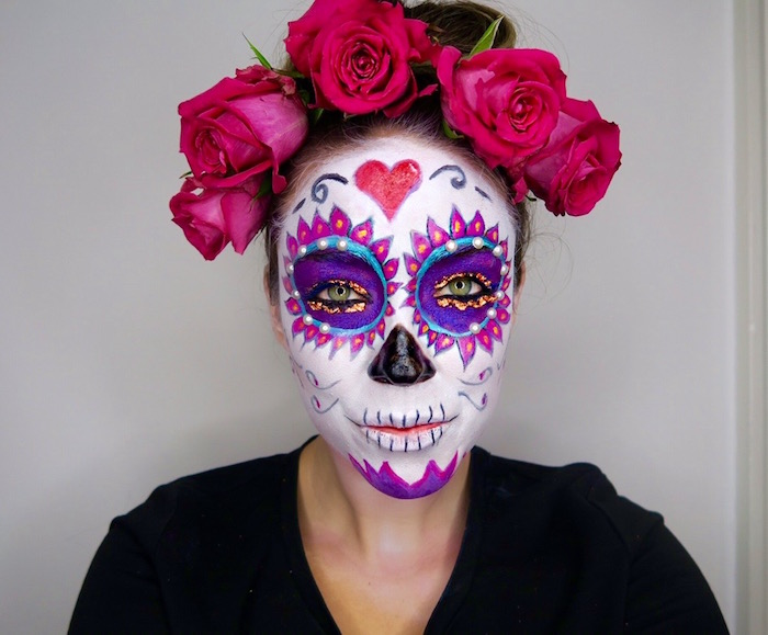 Maquillage mexicain carnaval - Maquillage mexicain facile ...