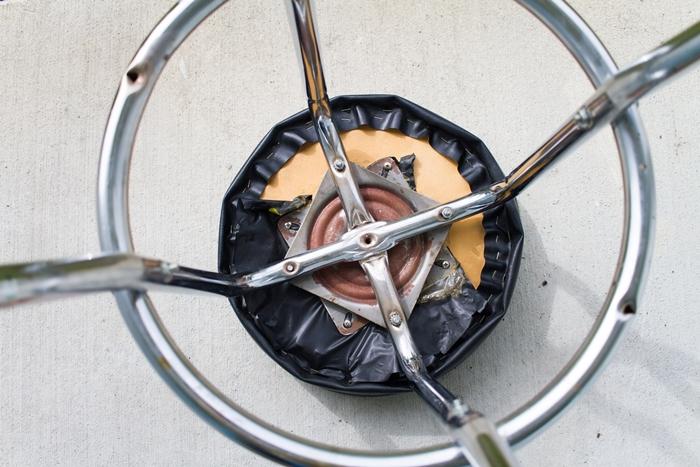 chaise industrielle, tabouret de bar, tabouret avec pieds métalliques, projet diy, idee deco industrielle