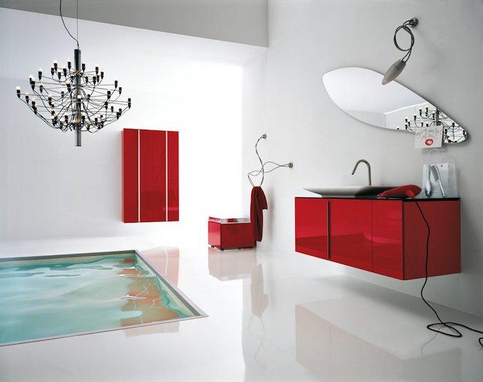 1001 modeles pharamineux de la salle de bain moderne for Salle de bain design avec golf décoration et accessoires