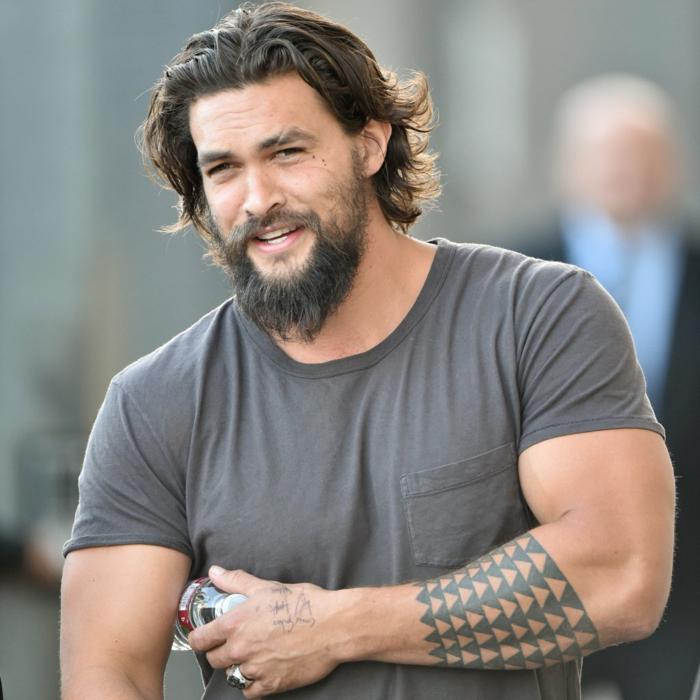 Superbe idée tatouages homme tatouage avant bras tatouage manchette homme Jason Momoa Aquaman