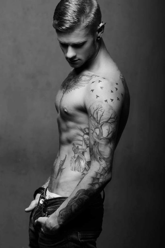 1001 images pour trouver la meilleure id e de tatouage homme. Black Bedroom Furniture Sets. Home Design Ideas