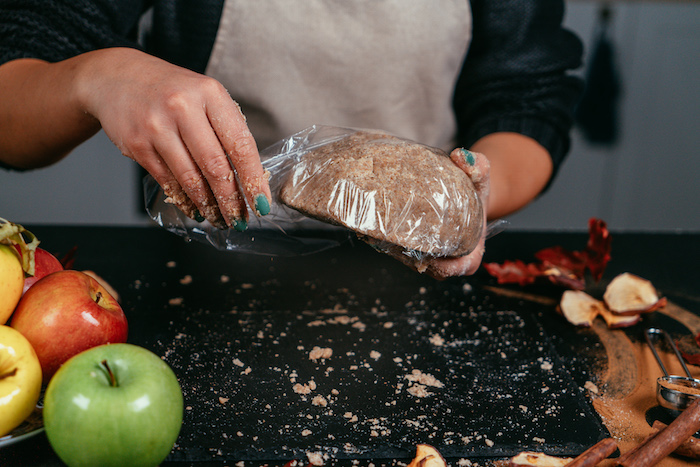 laisser la pâte reposer dans le frigo, idée repas équilibré sans gluten, recette diététique sans sucre