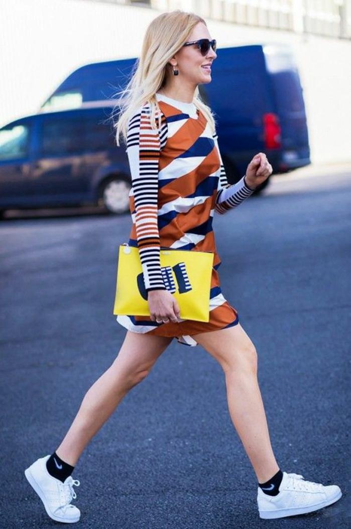Quel sac à main bandoulière femme sac à main en cuir robe tendance pochette grande cool idée jaune pochette