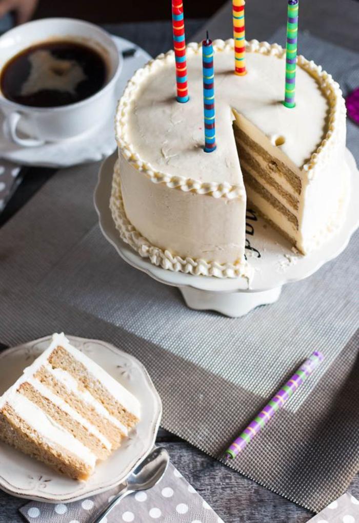 idées originales pour des gâteaux anniversaire faciles et rapides sans gluten