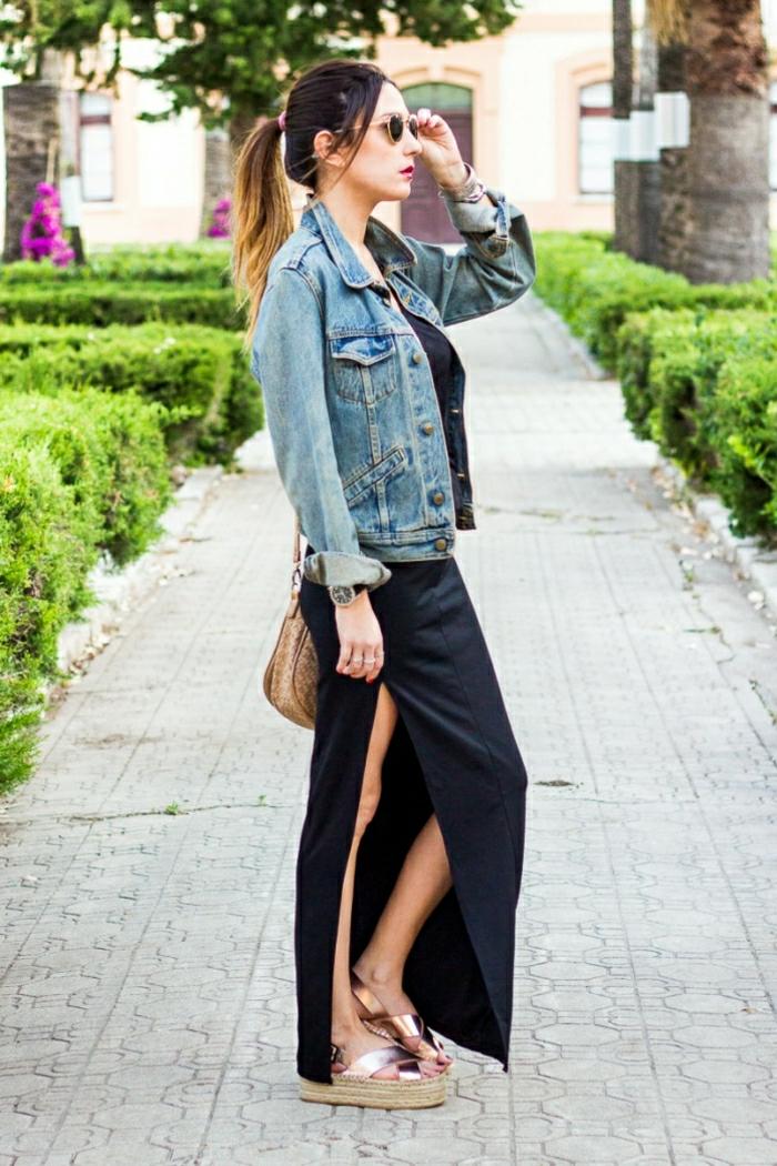 Cosy tenue pour la rentrée idée quels vêtements choisir robe longue
