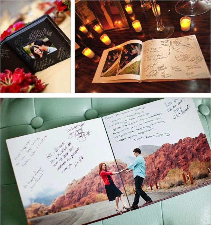 Beau livre d or mariage original livre d or pour mariage déco faire soi même le livre d or mariage