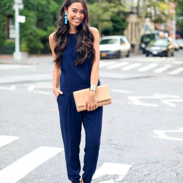 Superbe pochette femme bleu pochette femme pas cher