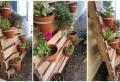 La jardinière en palette en 80 photos et vidéos qui vont vous aider à fabriquer une déco jardin superbe