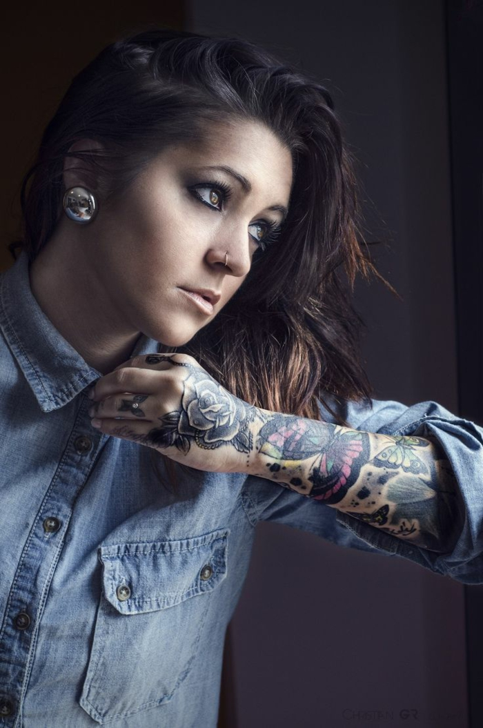 Cool tatouage avant bras femme le tatouage mandala femme