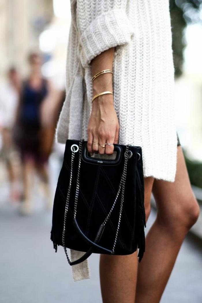 Pochette femme guess ou pochette prada femme originale noire sac à main