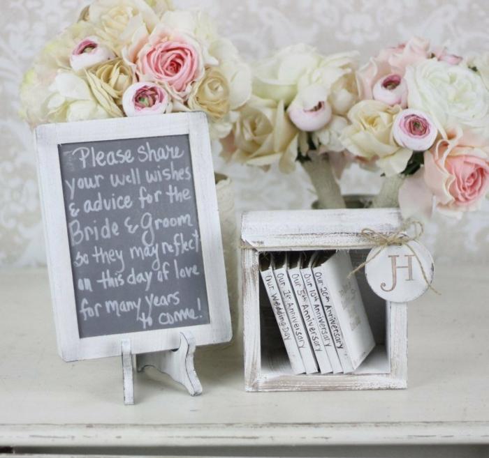 Livre d'or originale souvenir du mariage cool idée comment créer petits livres