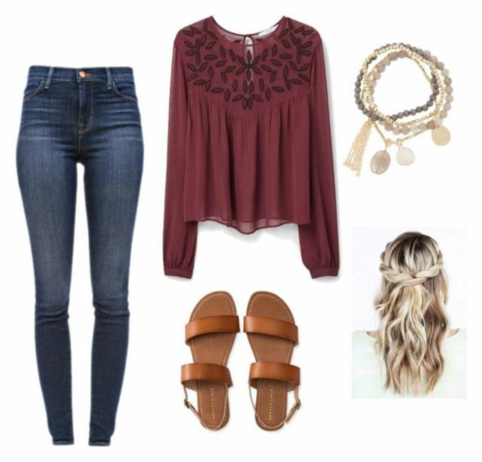 Veste collegienne comment s habiller pour etre a la mode jean