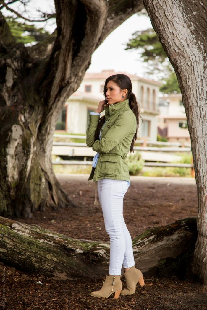 1001 + idées pour une tenue avec pantalon blanc fantastique aac5d6844ce