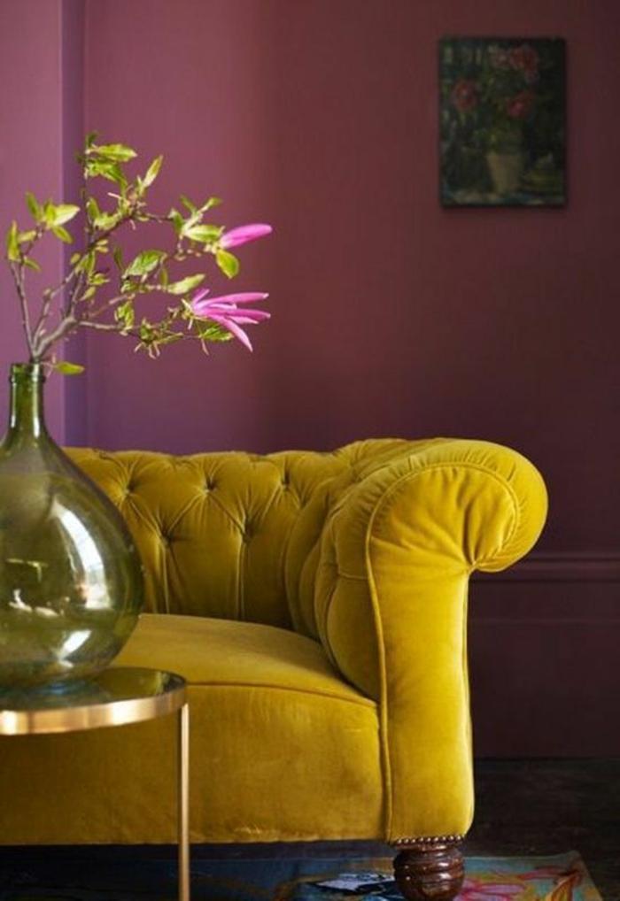 meuble style baroque en moutarde douillet pour bien s asseoir