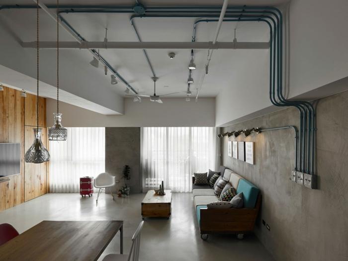 tout savoir pour r ussir la d co industrielle r gles d or 95 design et projets diy pharamineux. Black Bedroom Furniture Sets. Home Design Ideas