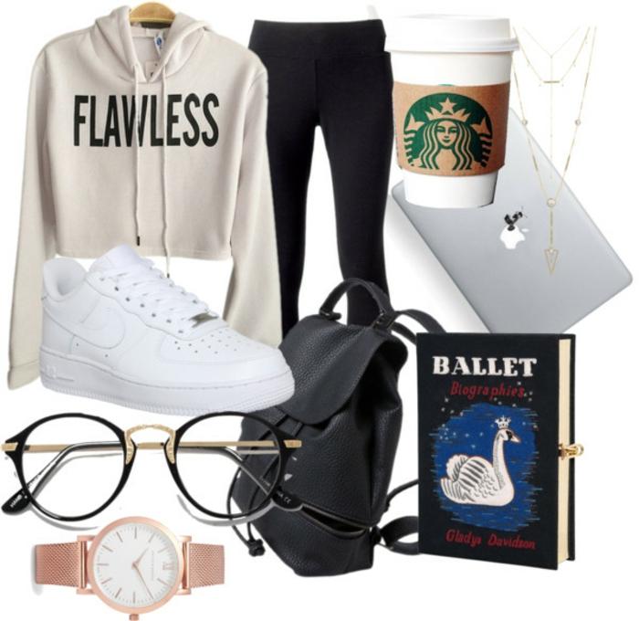 Tenue pour le lycée comment s habiller classe ado fille flawless