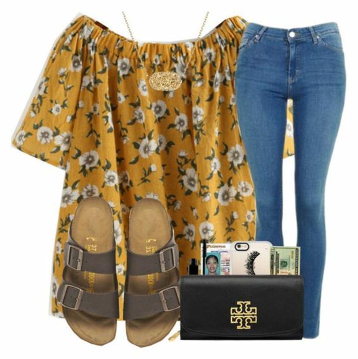 Cosy tenue pour la rentrée idée quels vêtements choisir jean bleu