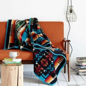 Aménager un intérieur moderne à base de motif aztèque