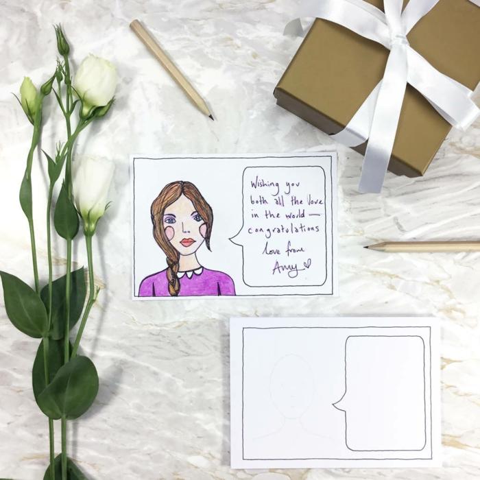 Magnifique livre d or personnalisé livre d or original mariage cool idée créative