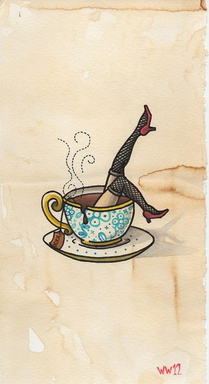 Magnifique tatouage sablier old school écriture old school pin up tatouage café et femme pieds