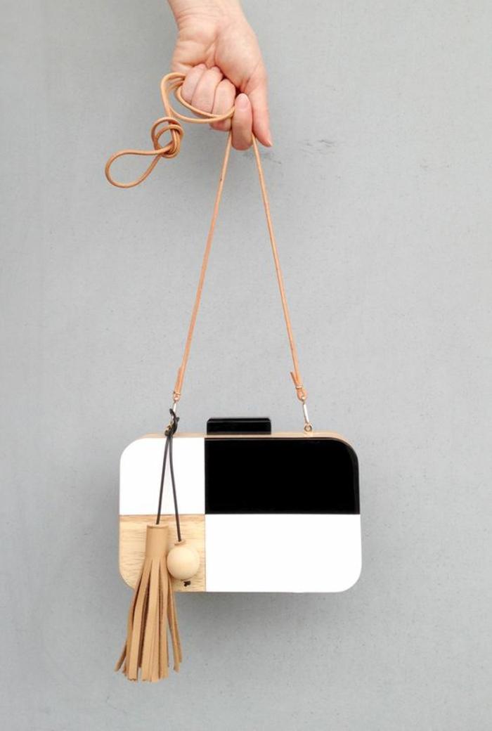 Cool pochette ethnique sac pochette femme cool idée en bois