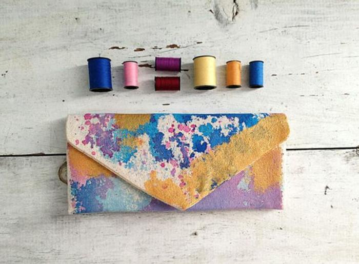 Formidable pochette enveloppe femme pochette portefeuille femme couleurs soi meme