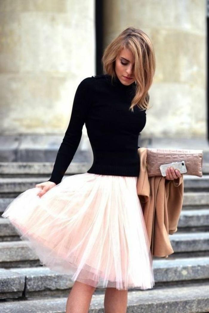 Idée quel sac pochette louis vuitton pochettes femme jupe ballerine