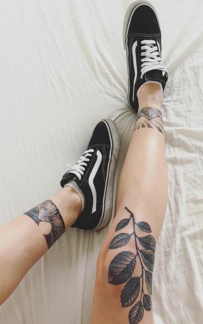 Idee de tatouage femme tatoo de femme petit tatoo pied cool idée