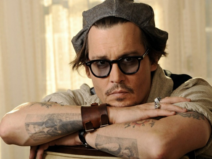 Nuque homme idées de tatouages hommes tatouage homme Johnny Depp