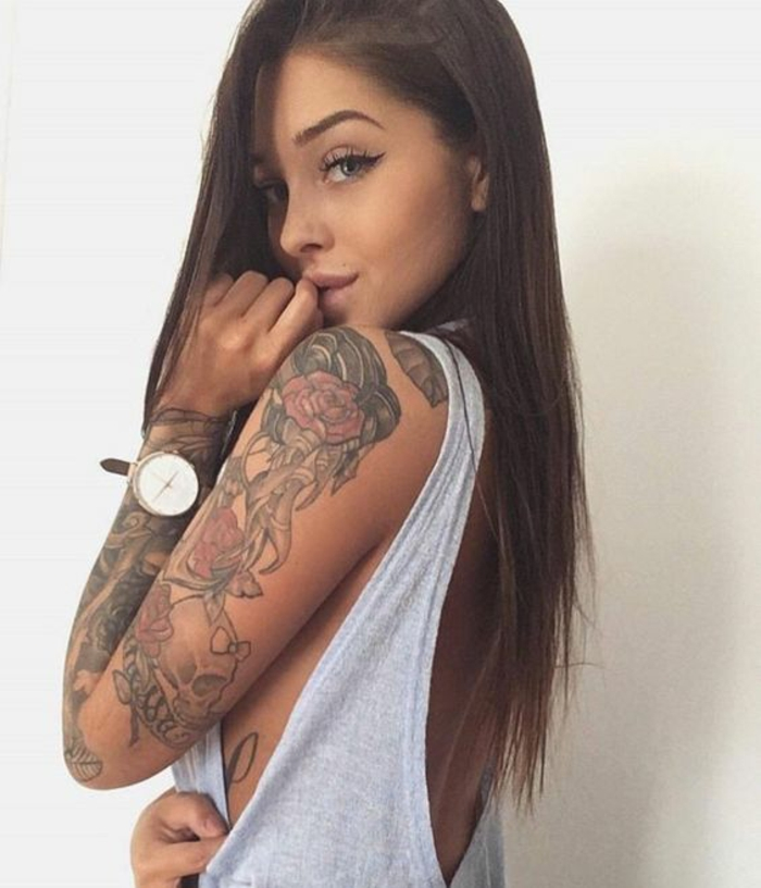 Old School Tattoo Sleeve Tumblr 1001 + idées pour...