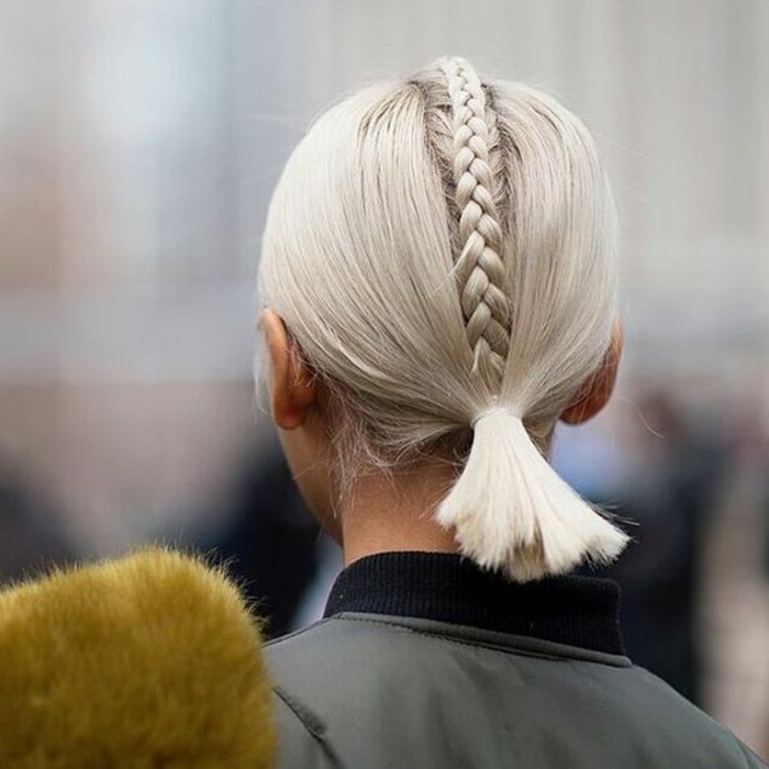 ▷ 1001 + idées de queue de cheval pour cheveux courts