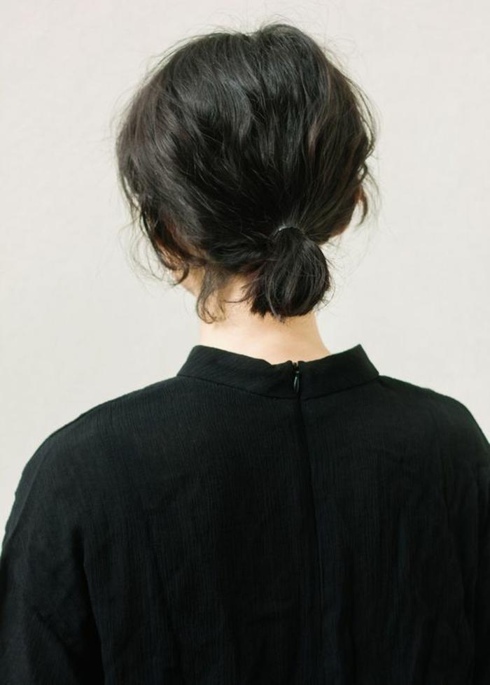 1001 id es de queue de cheval pour cheveux courts - Fabriquer une coiffeuse ...