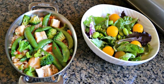 manger équilibré, petite casserole, brocolis, légumes, viande, manger sainement, recette facile