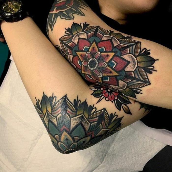 Tatouage hirondelle old school tatouage rock n roll