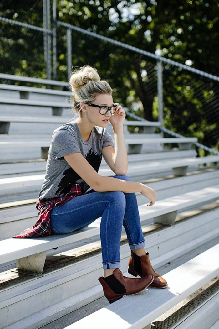 Idée tenue de lycée comment s'habiller pour se sentir confortable jean