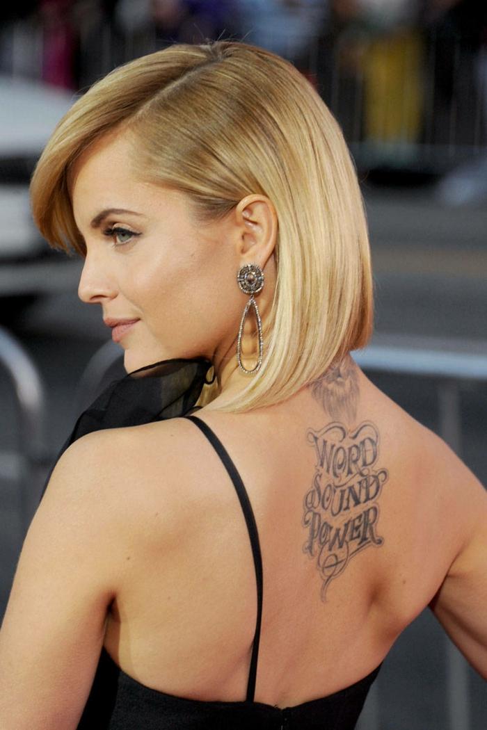Tatooage femme tatouages femmes idée tatouage original femme célèbre
