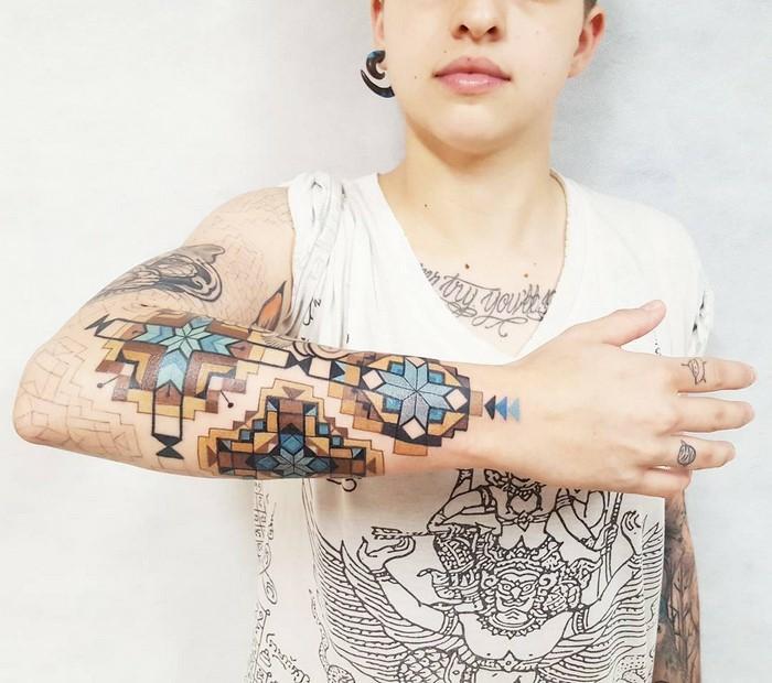 Tatouage prénom discret tatouage cou homme model de tatouage