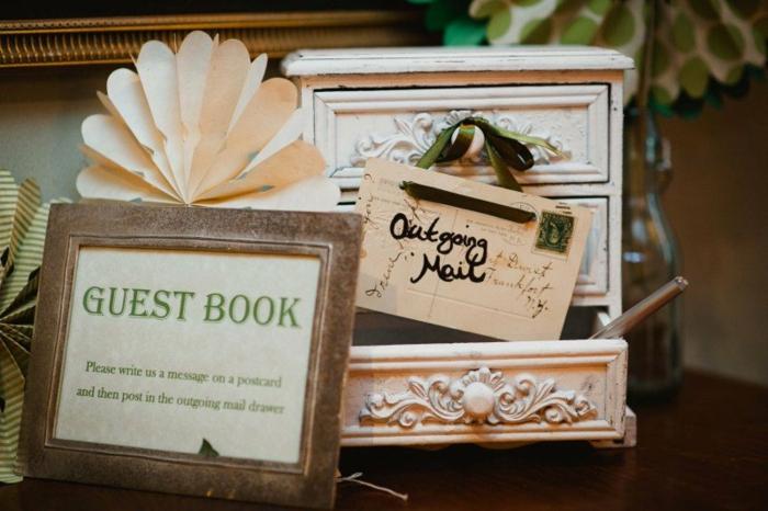 Créer son livre d or mariage le livre du mariage cool idée originale