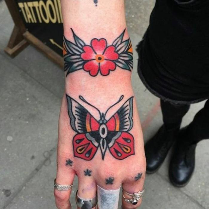 Old school tattoo idee tatouage homme old school idée